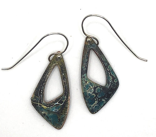 Earrings Enamel ERE 243