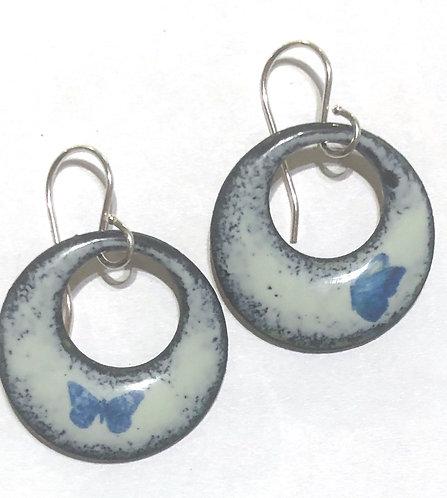 ERE 334 Enamel Earrings