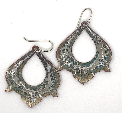 Earrings Enamel ERE 269