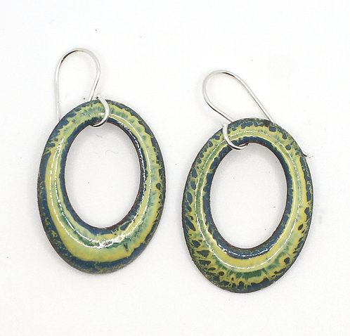 ERE 326 Earrings Enamel