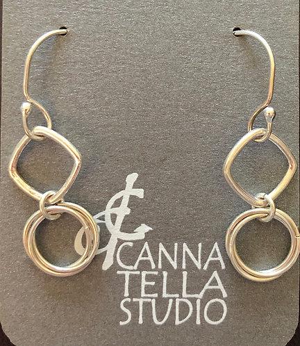 Earrings Silver Dangles