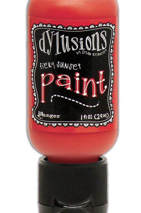 "Dylusions Paint Flip Cap ""Fiery Sunset"""