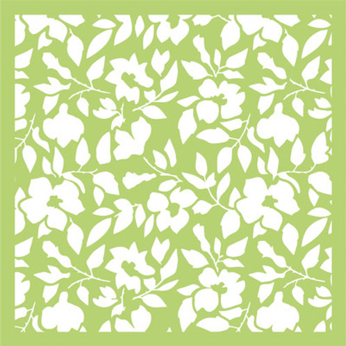 "Kaisercraft 6x6 Stencil - Design: ""Autumn"""