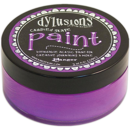 "Dylusions Blendable Acrylic Paint 2oz - ""Crushed Grape"""