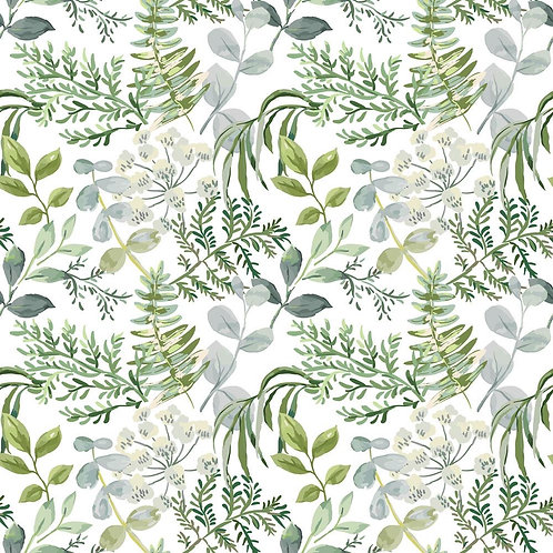 "Greenery  Paper House  Double-Sided Cardstock 12""X12"""