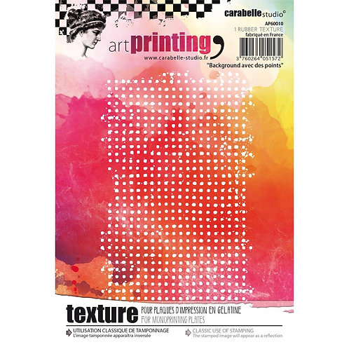 Carabelle Studio Art Printing Background  Rubber Texture Plate