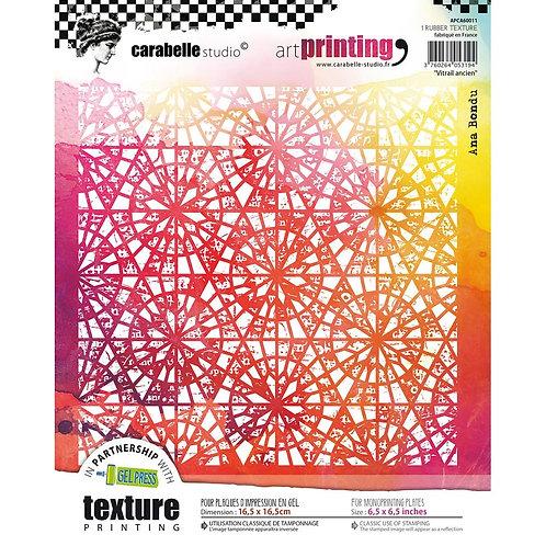 Carabelle Studio Art Printing Rubber Texture Plate