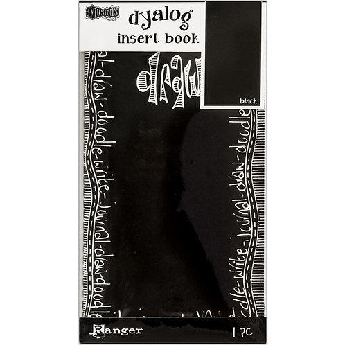 "Dylusions Dyalog Insert Book - ""Black"""