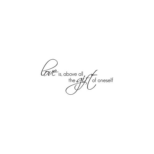 """Kaisercraft """"Gift of Love"""" Clear Stamps 2""""x3"""""""