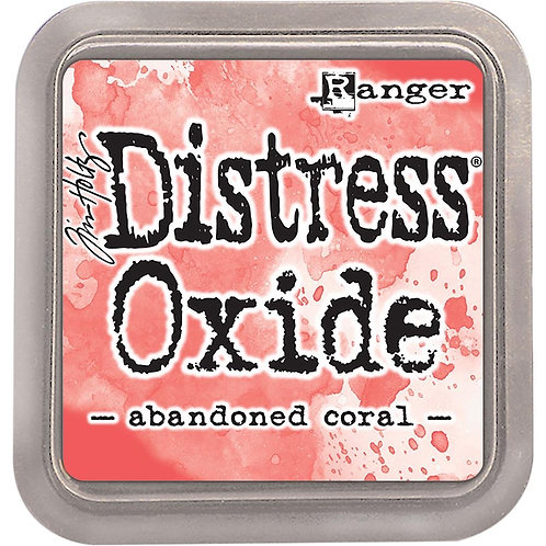 """Distress Oxides - """"Abandoned Coral"""" by Ranger"""