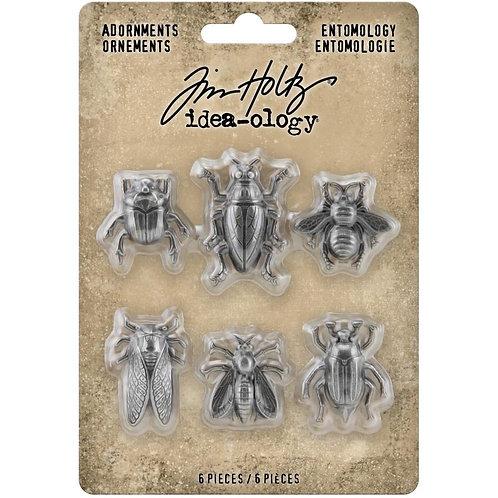Idea-Ology Metal Bug Adornments 6/Pkg