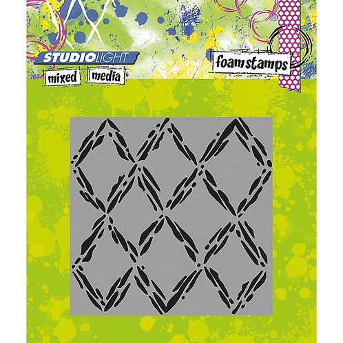 #03 Studio Light Mixed Media Foam Stamps