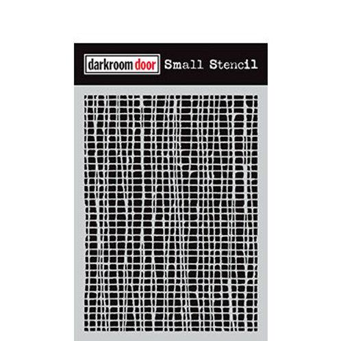 """Darkroom Door Stencil - """"Mesh""""   4.5"""" x 6"""""""