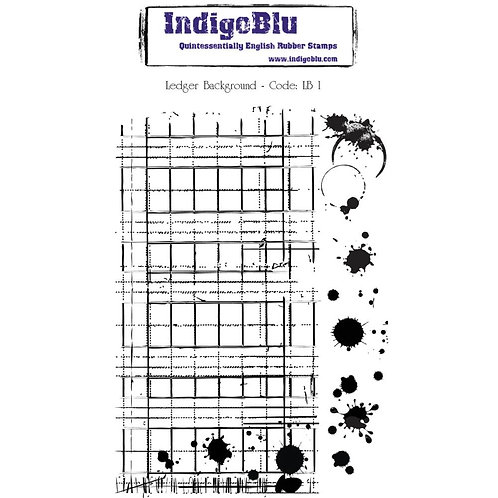 "IndigoBlu Cling Mounted Stamp 5""X8"""