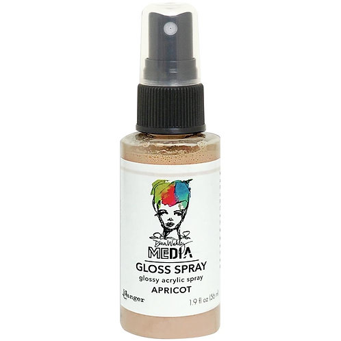 """Apricot"" Dina Wakley Media Gloss Spray"
