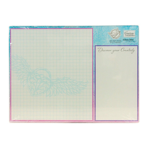 Tempered Glass Mat for Mixed Media - 395 x 298mm (15.5 x 11.7in)