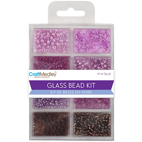 MULTICRAFT IMPORTS-Glass Bead Kit 45g