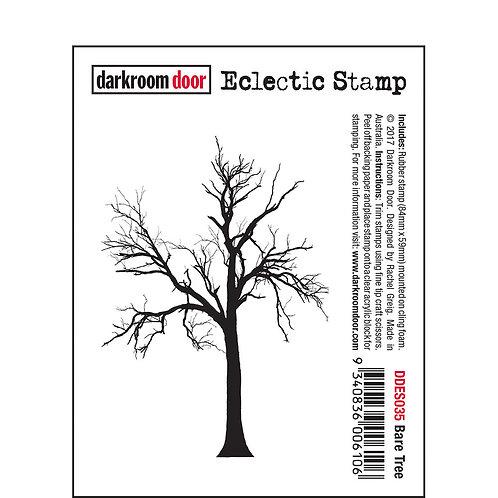 Bare Tree -Darkroom Door Eclectic Rubber Stamp