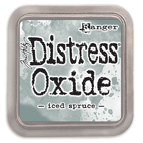 """Distress Oxides - """"Iced Spruce"""" by Ranger"""