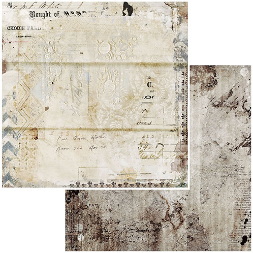 """Paper No 2 Double-Sided Cardstock 12""""X12"""" 49 Market"""