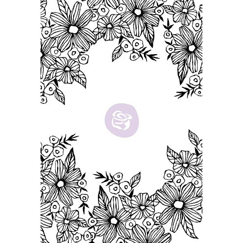 Prima Stamps by Christine Adolf Cling Rubber Stamps