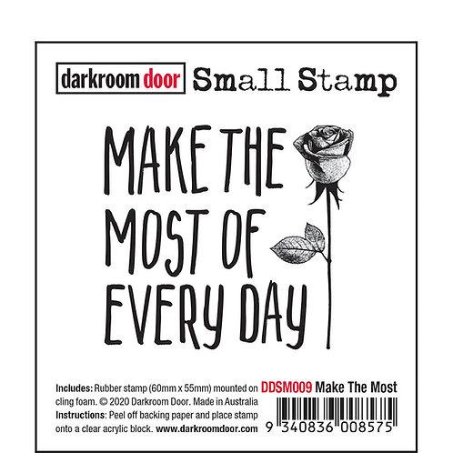 """Darkroom Door Small Stamps - """"Make the Most"""""""