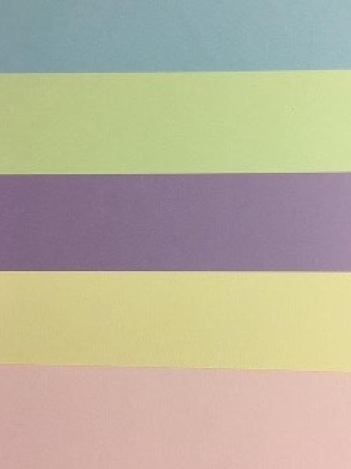 A4 Confetti Pastel A4 Card 210gsm 50 pack