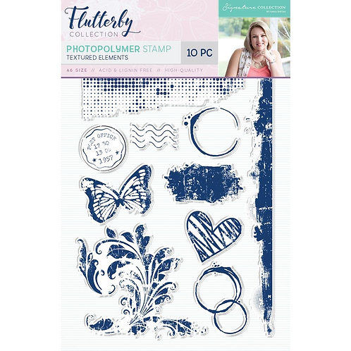 Sara Davies Signature Flutterby Clear Stamps