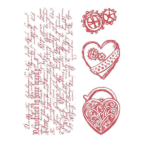 Couture Creations Heart LocketsStamps