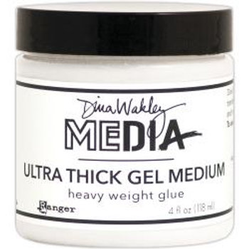 Dina Wakley Media Ultra Thick Gel Medium 4oz Jar