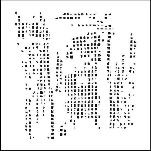 """TCW - 6x6 Stencil -  """"Mini Tile Texture"""""""