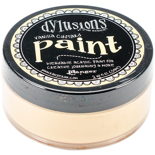 "Dylusions Blendable Acrylic Paint 2oz - ""Vanilla Custard"""