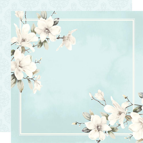 """Cherished  Paper House  Double-Sided Cardstock 12""""X12"""""""