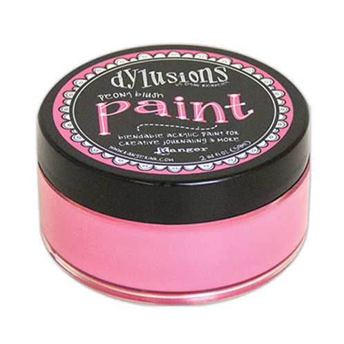 "Dylusions Blendable Acrylic Paint 2oz - ""Peony Blush"""