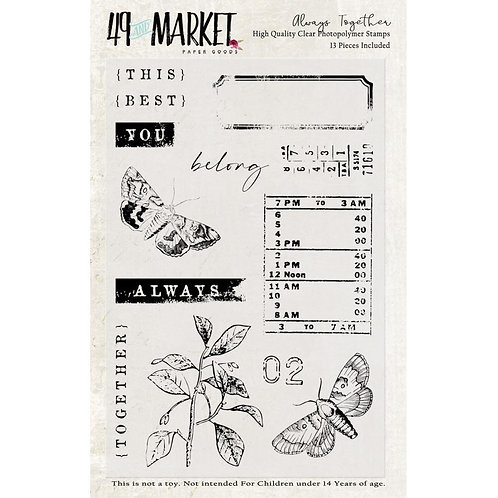 """49 Market Stamps - """"Always Together"""""""