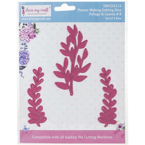 Dress My Craft - Foilage & Leaves cutting dies 3pc set