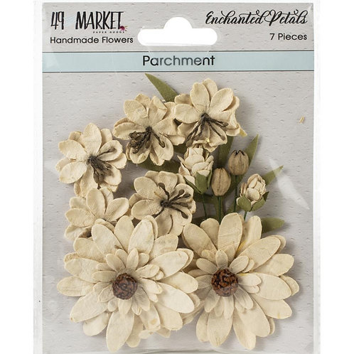 "49 Market Enchanted Petals 7 pcs ""Parchment"""