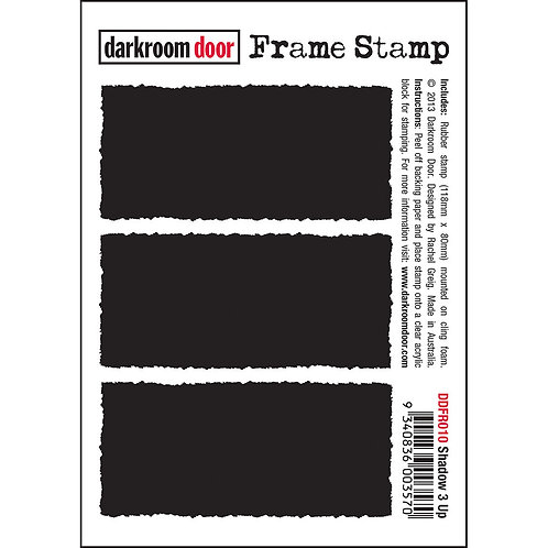 """Darkroom Door Frame Stamp - """"Shadow 3 Up"""""""