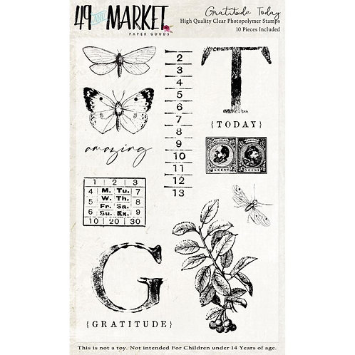 "49 Market Stamps - ""Gratitude"""