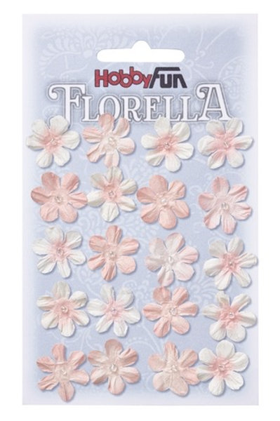 Hobby Fun Florella Mulberry Flowers 20 Pieces