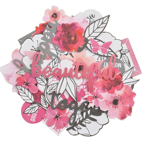 "Kaisercraft Die Cut Shapes - Collectables ""Magenta"""