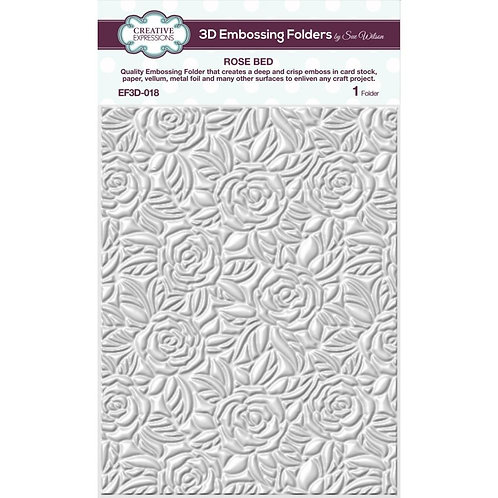 "Creative Expressions 3D Embossing Folder "" 5.75""X7.5"""