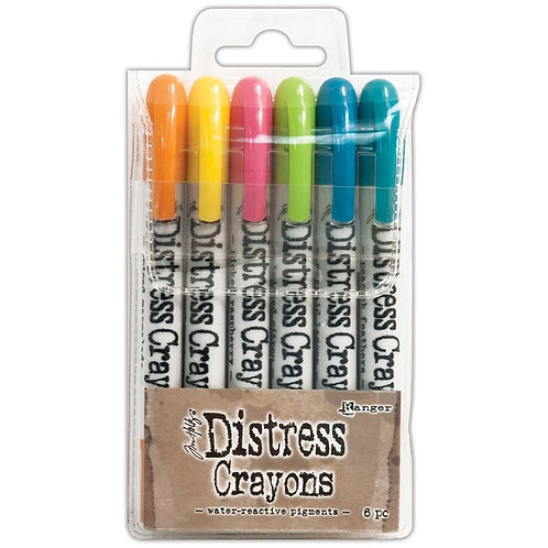 Tim Holtz Distress CrayonSet #1
