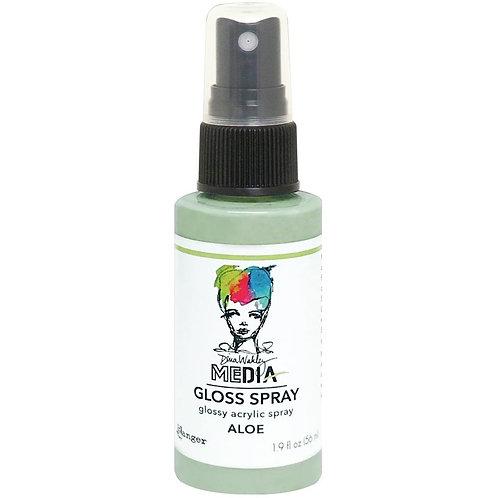 """""""Aloe"""" Dina Wakley Media Gloss Spray"""