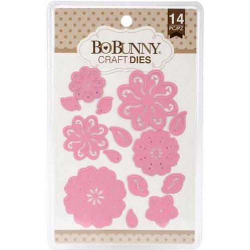 """BoBunny Craft Dies """"Perfect Petals"""" 14pcs"""