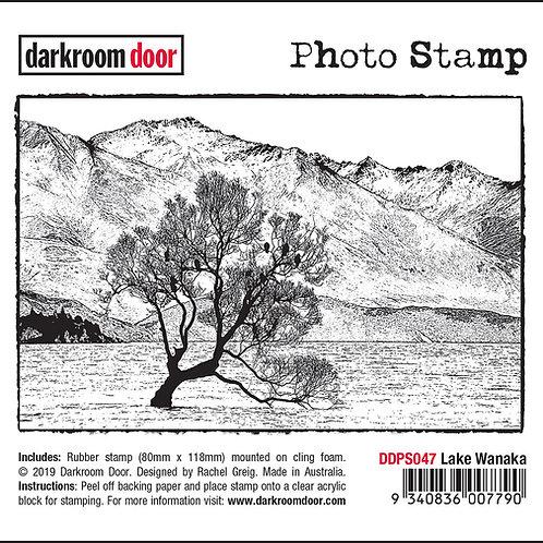 "Darkroom Door - ""Lake Wanaka"" Photo Rubber Stamp"