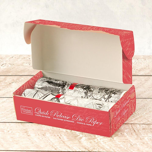 Couture Creations Quick Die Release Paper - 2 Rolls
