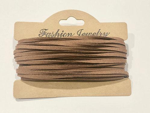 10m Sienna Faux Suede Cord  String Jewellery Making Bracelet Neckl