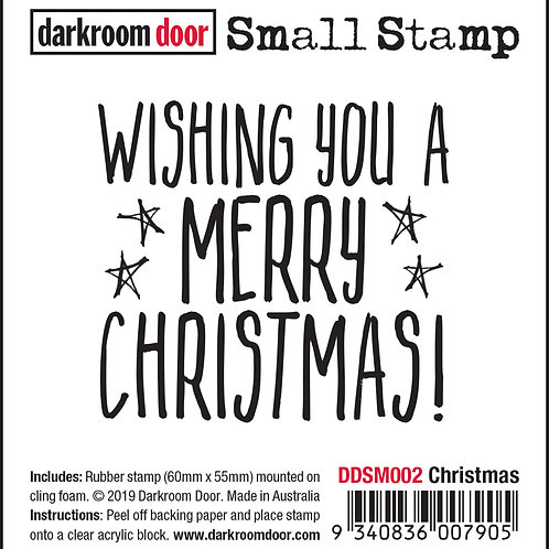 "Darkroom Door Small Stamps - ""Christmas"""