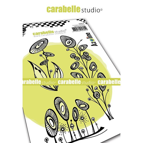 Carabelle Studio Cling Stamp A6 Fleurs de soleil